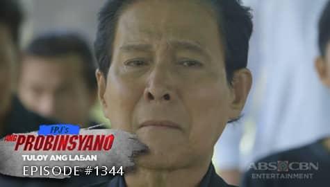 Ang Probinsyano: Art, bumuhos ang luha sa libing ni Clarice | Episode # 1344 Image Thumbnail
