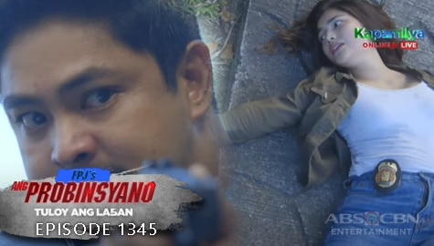 Ang Probinsyano: Cardo, nasapul ng bala si Lia | Episode # 1345 Image Thumbnail