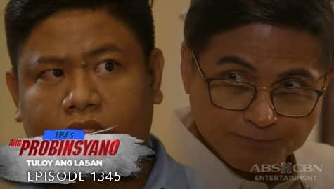 Ang Probinsyano: Mariano, natahimik nang mabanggit ni Ambo si Cardo | Episode # 1345 Image Thumbnail