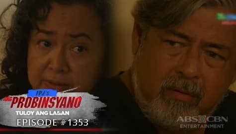 Ang Probinsyano: Virgie at Teddy, tuluyan nang nawalan ng tiwala kay Cardo | Episode # 1353 Image Thumbnail