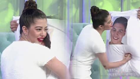 "Sue Ramirez does the ""Sasapakin o Yayakapin"" challenge! | TWBA Throwback Image Thumbnail"