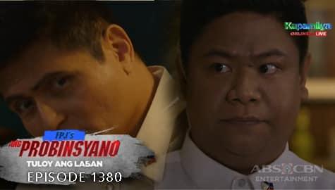 Ang Probinsyano: Mariano, ikinuwento kay Ambo ang pagseselos ni Ellen kay Cassandra | Episode # 1380 Image Thumbnail