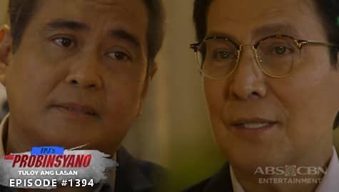 Ang Probinsyano: Renato, sinubukan baguhin ulit ang isip ni Art   Episode # 1394 Image Thumbnail
