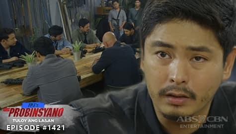 Ang Probinsyano: Cardo, humingi ng tawad sa kaniyang mga kasamahan | Episode # 1421 Image Thumbnail