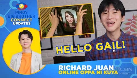 PBB Connect Update w/ Richard Juan: Latest housemate ni Kuya na si Gail, nakapasok na sa loob ng bahay! Image Thumbnail