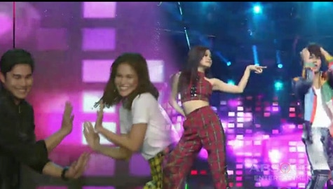 "#McLisse and #MarNigo's ""Budots"" dance showdown!"