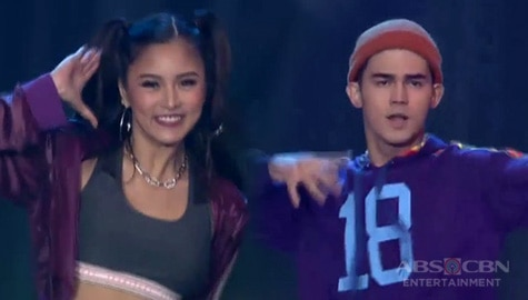 'Palaban na sayawan!' Iñigo Pascual and Kim Chiu's dance showdown with Rockwell Image Thumbnail