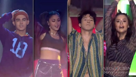 Kapamilya dance idols Kim, Yassi, Enchong & Inigo in a level up showdown with Power Impact & Rockwell Thumbnail