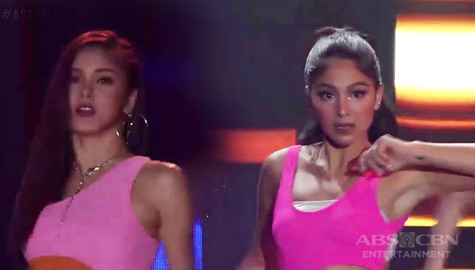Swalla-la-la! Nadine Lustre and Kim Chiu leave the dance floor on fire with their hot showdown! Image Thumbnail