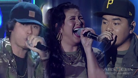 Regine collaborates with Gloc-9 & Abra in a one-of-a-kind raptastic performance Image Thumbnail
