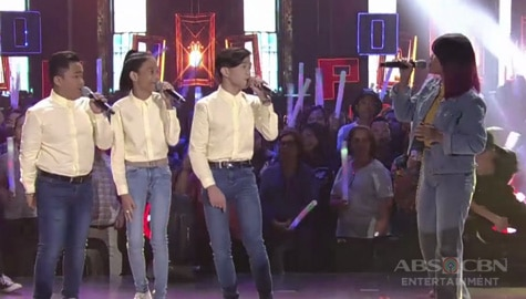 """""""This Band"""" performs their hit song """"Kahit Ayaw Mo Na"""" with TNT Boys! Image Thumbnail"""