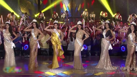 Newly crowned Binibining Pilipinas 2019 queens visit ASAP Natin 'To Image Thumbnail
