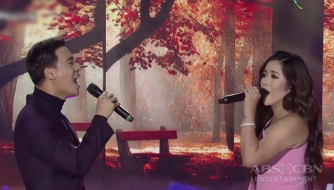 WATCH: Angeline and Erik join their voices again in 'The Greatest Showdown' duet Image Thumbnail