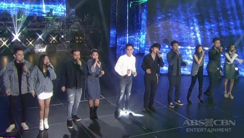Idol PH's Top 10 performs for the first time on the ASAP Natin 'To stage! Image Thumbnail