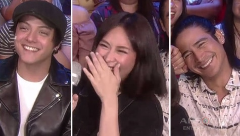 """Sarah G, Daniel Padilla and Piolo Pascual's """"kulitan"""" on ASAP Natin 'To will complete your day! Image Thumbnail"""