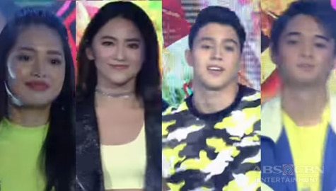 PBB Otso Batch 3 Ex-Teen Housemates' 'Halo-Halo' dance performance on iWant ASAP Image Thumbnail