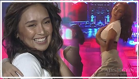 YAS KWEEN! Kathryn conquers the stage with her jaw-dropping dance number on ASAP Natin 'To Image Thumbnail