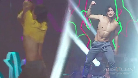 Enchong made the crowd go wild after taking his shirt off on ASAP Natin 'To Image Thumbnail