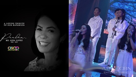 ASAP Natin 'To's tribute to ABS-CBN Foundation chair Gina Lopez Image Thumbnail
