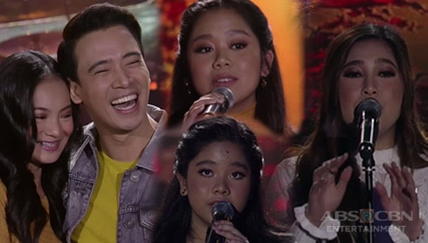 FIRST TIME ON TV: Erik Santos and Moira Dela Torre perform with their siblings! Image Thumbnail