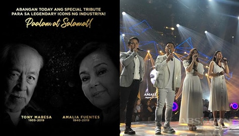 ASAP Natin 'To pays tribute to Amalia Fuentes and Tony Mabesa Image Thumbnail