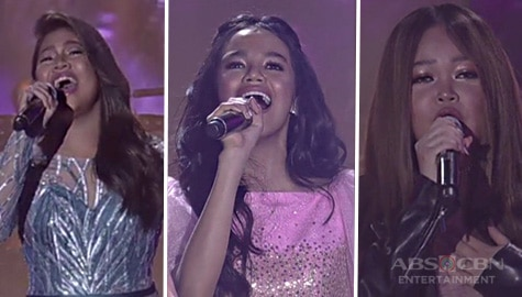 New gen champs Janine, Elha and Zephanie sing the hits of Sarah G.! Image Thumbnail
