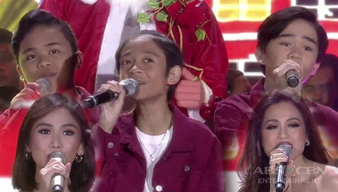 WATCH: ASAP Natin 'To singers' early Christmas treat! Image Thumbnail