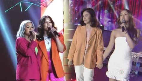 #SisterGoals: Back-to-back performance of the super lit sisters Julia x Claudia & Gab x Chi Image Thumbnail