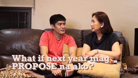 WATCH: Robi Domingo, magpo-propose na nga ba sa kanyang girlfriend next year? Image Thumbnail