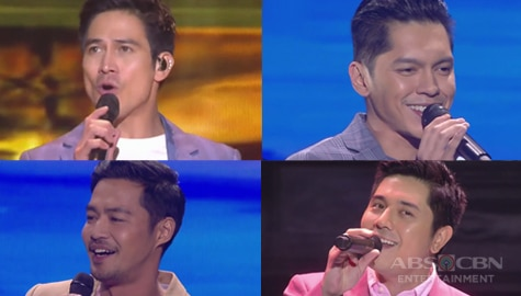 Ultimate heartthrobs overload made the ASAP Natin 'To Rome crowd go wild Image Thumbnail