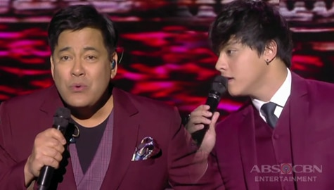 Concert King Martin Nievera x King of Hearts Daniel Padilla in a one romantic serenade on ASAP Natin 'To Image Thumbnail