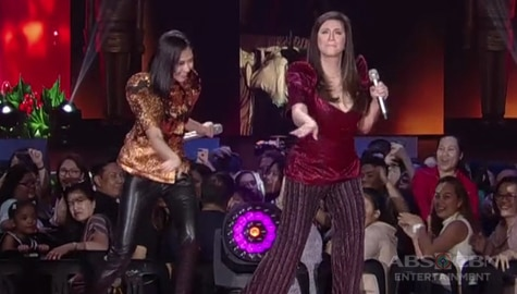 Regine Velasquez shows her 'Tala' moves with Sarah G.! Image Thumbnail