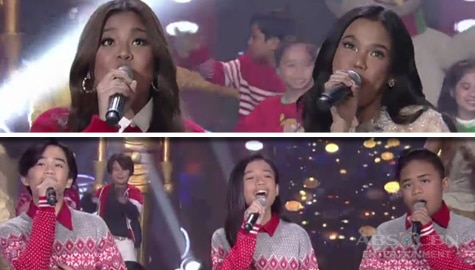 Zephanie, Elha and TNT Boys' fantastic Christmas treat on ASAP Natin 'To Image Thumbnail