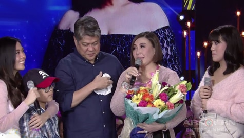 Sharon Cuneta spends her birthday with her family, friends and fans! Image Thumbnail