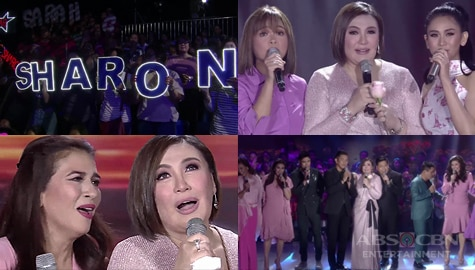 WATCH: Sharon Cuneta's mega birthday celebration on ASAP Natin 'To Image Thumbnail