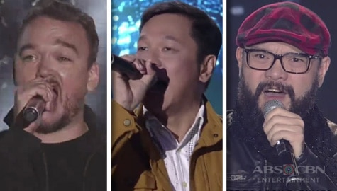 Kapamilya Divas perform with the 90's band vocalists Basti Artadi, Dong Abay, Wency Cornejo and Jett Pangan on ASAP Natin 'To Image Thumbnail