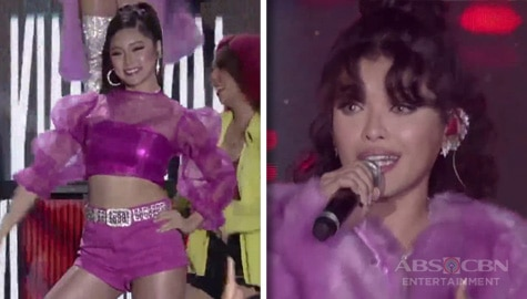 "KZ and Kim Chiu's superb performance of ""Super Bass"" Image Thumbnail"