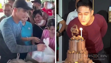 WATCH: How Piolo Pascual celebrated his birthday with Taal victims Image Thumbnail
