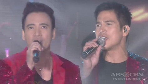 Piolo Pascual and Erik Santos open ASAP Natin 'To with Maroon 5's Super Bowl performance Image Thumbnail