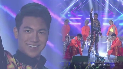 Darren Espanto in an electrifying opening number Image Thumbnail
