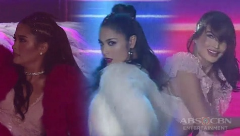 Sarah Lahbati, Yam Concepcion and Ryza Cenon unleash their inner dance goddess on ASAP Natin 'To Image Thumbnail