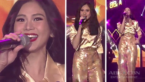 Popstar Royalty Sarah Geronimo-Guidicelli transforms into the 'Dancing Queen' on the ASAP Natin 'To concert stage