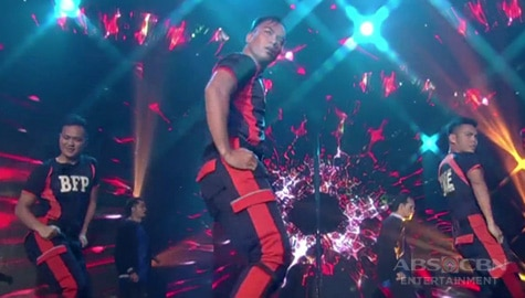 Viral dancing firefighters perform on ASAP Natin 'To Image Thumbnail