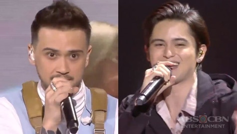 "WATCH: James Reid and Billy Crawford perform their single ""Filipina Girl"""