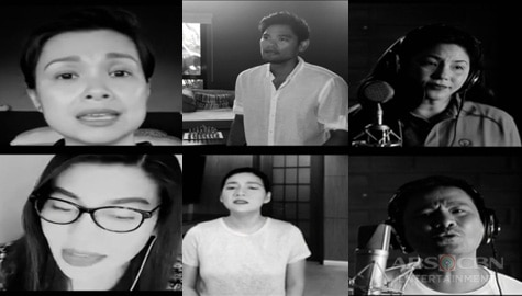 ASAP Natin 'To stars pray for the Philippines Image Thumbnail