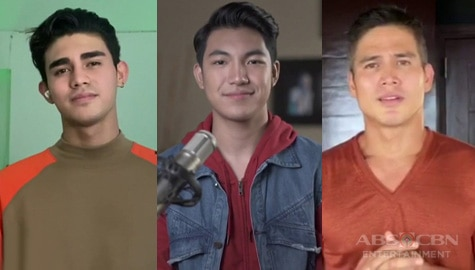 Piolo, Inigo and Darren perform songs of hope and inspiration on ASAP Natin 'To Image Thumbnail