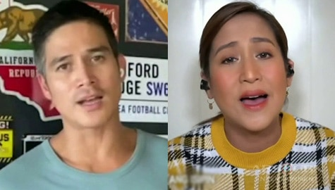 Jolina and Piolo will fill your heart with hope with their 'Sana' rendition Image Thumbnail