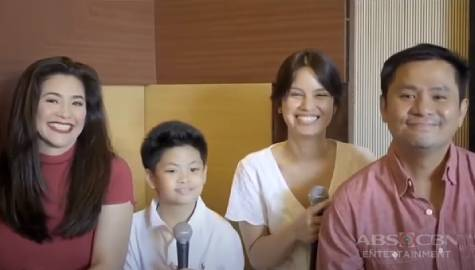 """The Alcasid Family sings their mesmerizing rendition of """"I Can"""" 