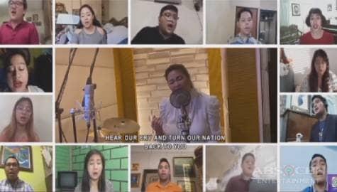 Regine and Villancico Vocal Ensemble's heartwarming 'Heal Our Land' rendition | ASAP Natin 'To Image Thumbnail