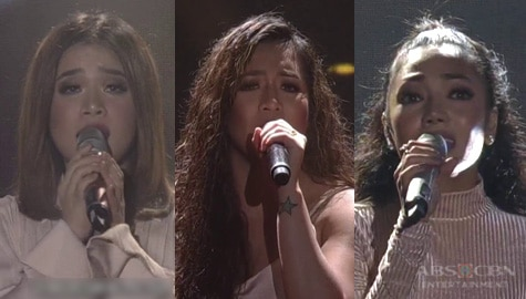 Angeline, Jona & Klarisse in a powerful perfomance of 'Patuloy Ang Pangarap' Image Thumbnail